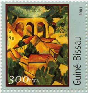 Ponts dans les peintures du xxe for Braque peintre