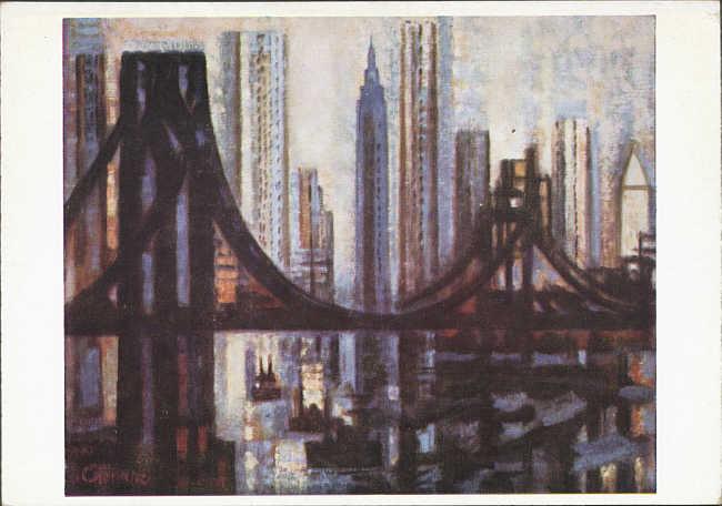 Le pont de brooklyn - Toile pont de brooklyn ...